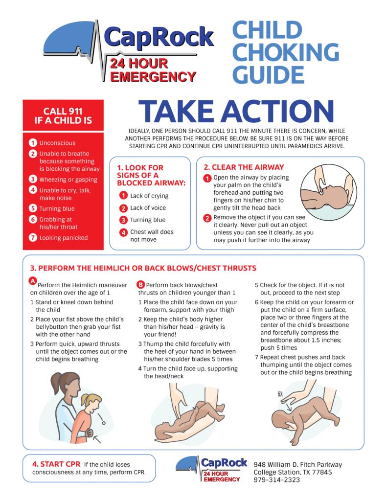Child Choking Guide