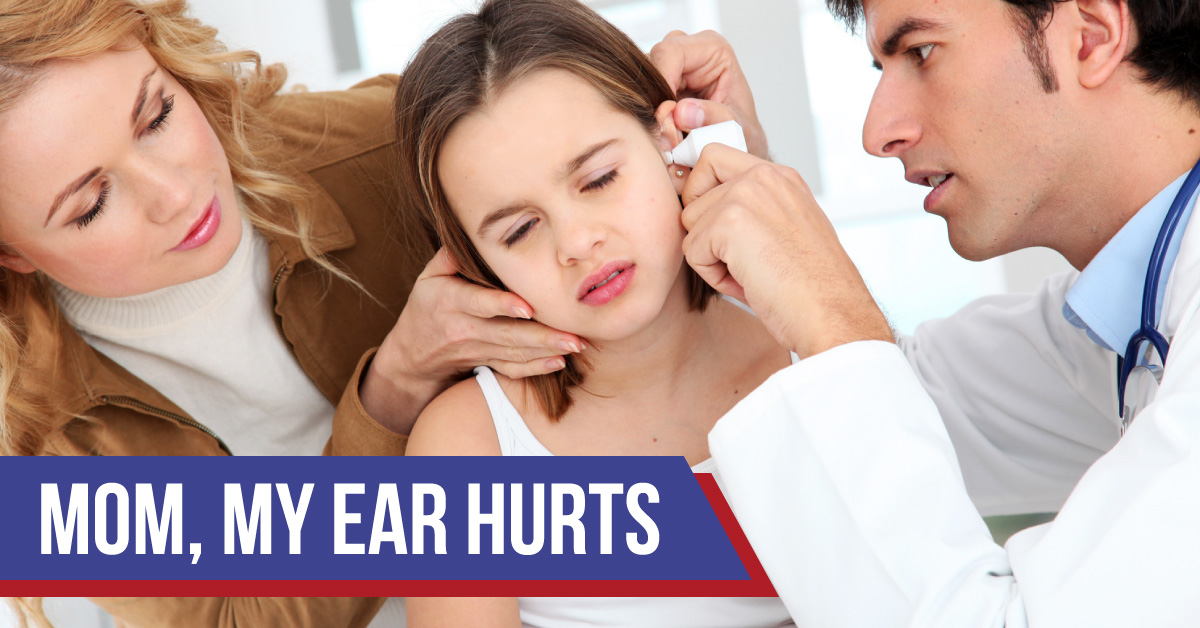 Ear infection adult male
