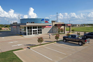 outside view of 24 hour emergency care CapRock Health Bryan College Station Texas